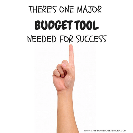 THERE'S ONE MAJOR BUDGET TOOL NEEDED FOR SUCCESS