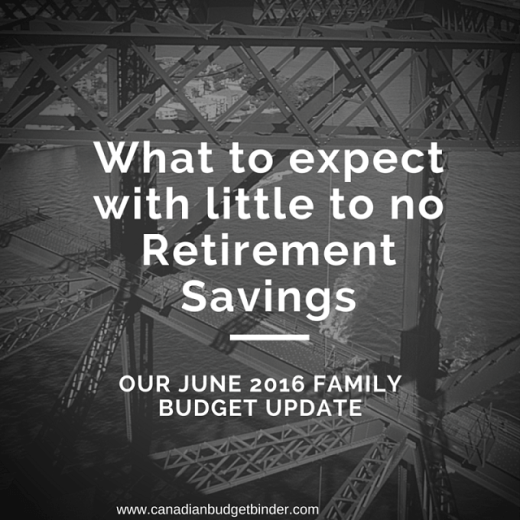 What to expect with little to no Retirement Savings