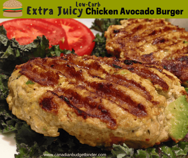 extra juicy chicken avocado burger 3