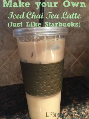 how to make homemade iced chai tea latte