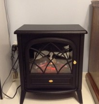 second-hand-electric-fireplace
