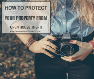 How To Protect Your Property From Open House Theft: The Saturday Weekend Review #197
