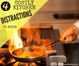 4 Costly Kitchen Distractions To Avoid While Cooking : The Grocery Game Challenge 2016 #5 Oct 31-Nov 6