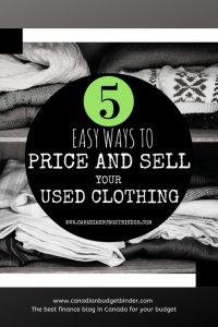 sell used clothing