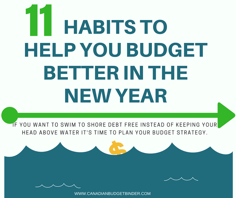 11 Habits To Help You Budget Better In The New Year : Our November 2016 Family Budget Update