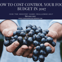 HOW TO COST CONTROL YOUR FOOD BUDGET 2017HOW TO COST CONTROL YOUR FOOD BUDGET 2017