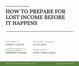 HOW TO PREPARE FOR LOST INCOME BEFORE IT HAPPENS