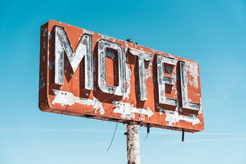 dodgy motel