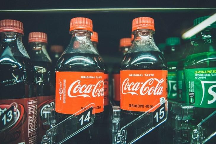 Coke and Sprite Vending Machine