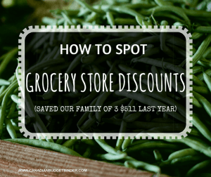 HOW TO SPOT GROCERY STORE DISCOUNTS