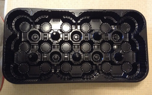 plastic Tim Hortons muffin trays pat