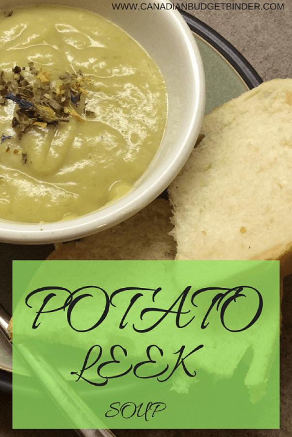 potato leek soup pinterest main