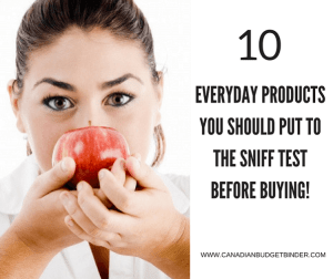 10 Everyday Products You Should Sniff Test Before Buying : The Grocery Game Challenge 2017 #4 Mar 20-26