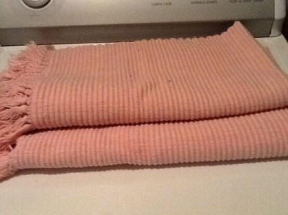 rose coloured mats from Salvation Army Christine Brag 2017
