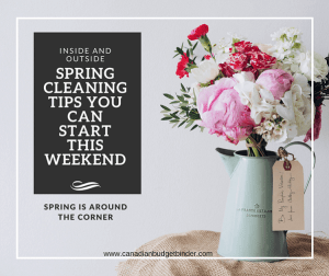 Spring Cleaning Tips To Help Get Your Check-list Started : The Saturday Weekend Review #215