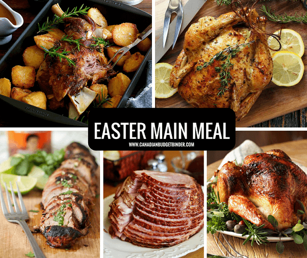 EASTER MENU IDEA MAIN MEAL