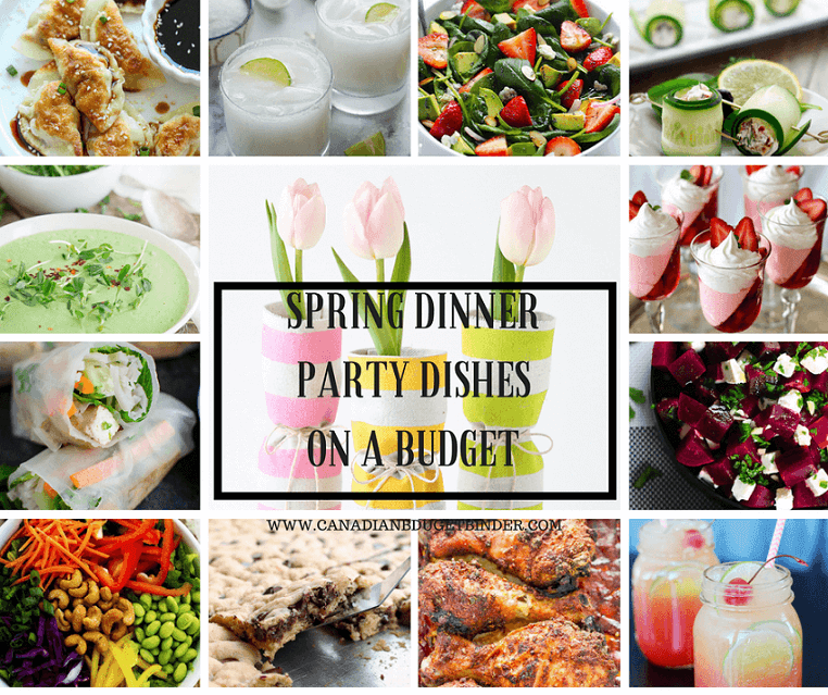Marvelous Budget Dinner Party Menu Part - 3: SPRING DINNER PARTY DISHES ON A BUDGET