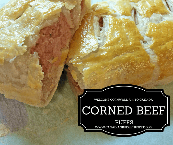 Flaky Corned Beef Puffs A Taste Of Home