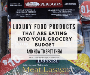 LUXURY FOOD PRODUCTS