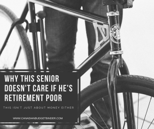 Why This Senior Doesn't Care If He's Retirement Poor : The Saturday Weekend Review #222