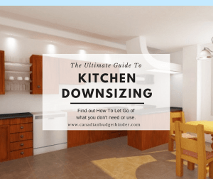 The Ultimate Guide To Kitchen Downsizing