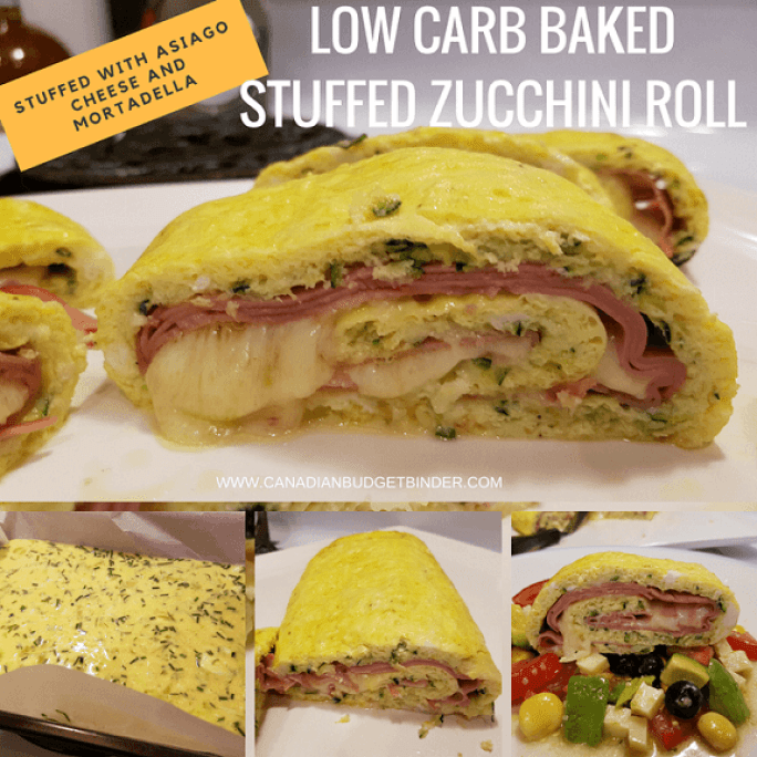 LOW CARB BAKED ZUCCHINI EGG ROLL FB 2
