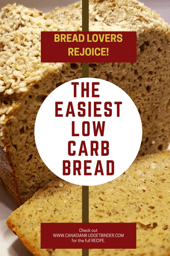 The Best and Easiest Low Carb Bread P8