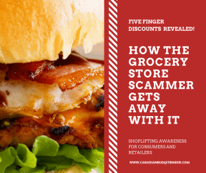 HOW THE GROCERY STORE SCAMMER GETS AWAY WITH IT