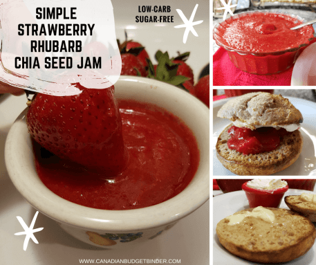 SIMPLE STRAWBERRY RHUBARB CHIA SEED JAM FB4