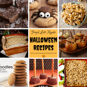 Frugal Last- Minute Halloween Recipes
