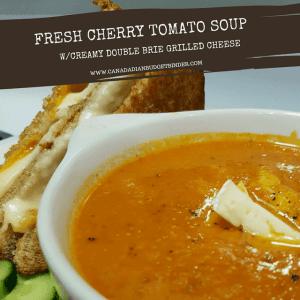 fresh cherry tomato soup homemade 2 fb