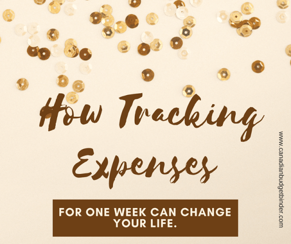 how tracking expenses for one week can change your life