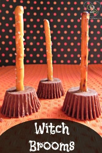 witch brooms Halloween Treats