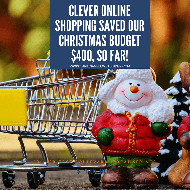 Clever Online Shopping Saved Our Christmas Budget $400 So Far : The ...