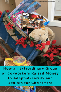 Extraordinary Co-workers Christmas Adopt A Family Story: The Saturday Weekend Review #244
