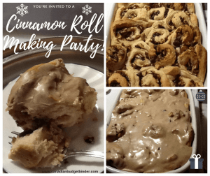 The Best Frosted Apple Cinnamon Rolls