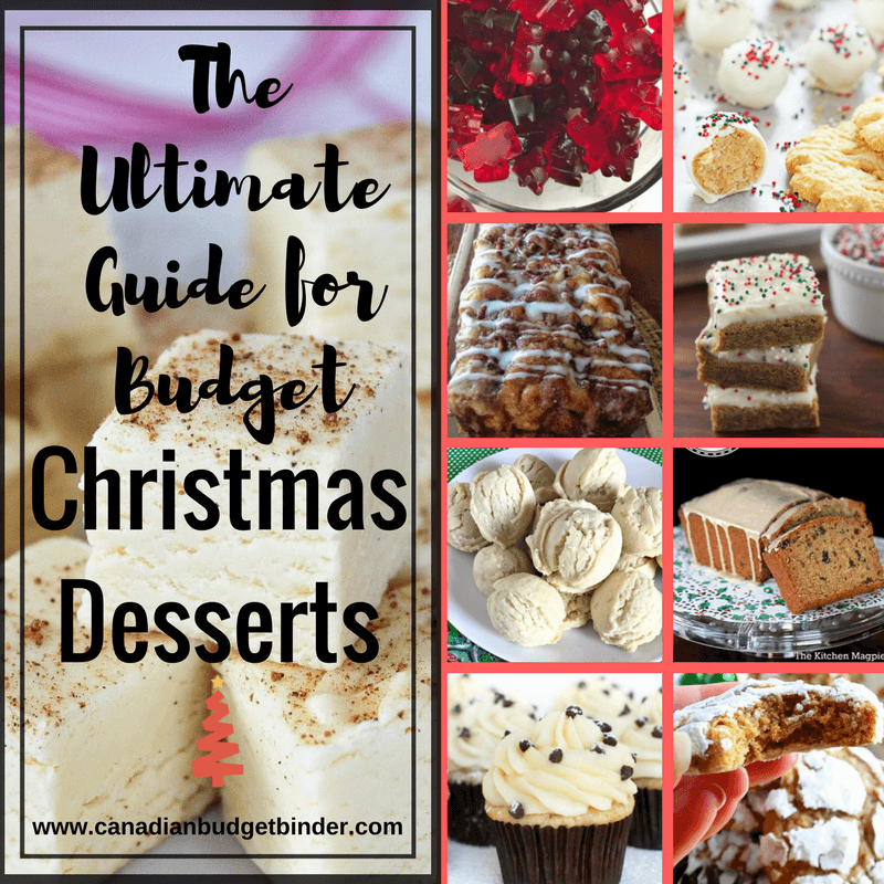 The Ultimate Guide for Budget Christmas Desserts : The Grocery Game Challenge 2017 #1 Dec 4-10