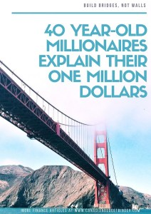 Forty Year Old Millionaires Explain Their One Million Dollars : Final Net Worth Update December 2017 (+0.34%)