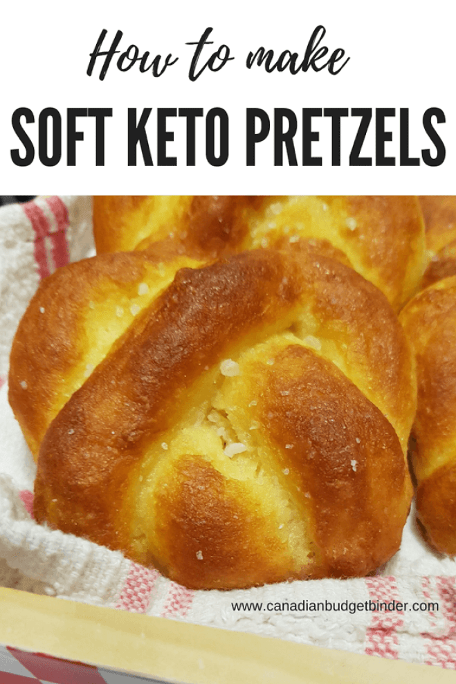 how to make soft keto pretzels low carb gluten free