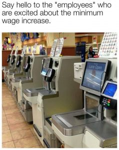 say hello to the new employee wage increase Ontario self scannerssay hello to the new employee wage increase Ontario self scanners