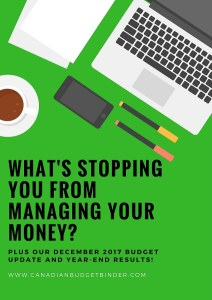 what's stopping you from managing money