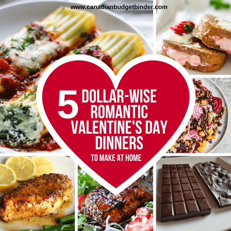 5 Dollar Wise Romantic Valentines Day Dinner Ideas The