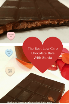 The Best Low-Carb Chocolate Bars With Stevia-2