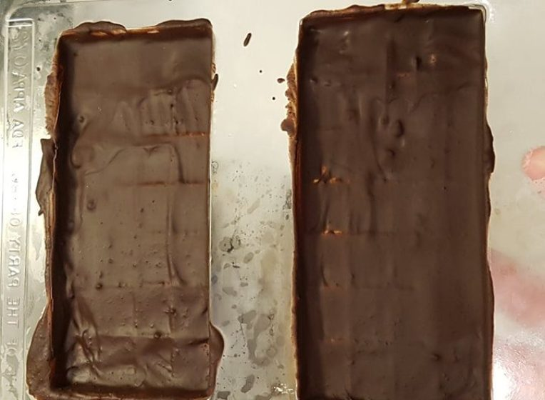 keto chocolate bar mould