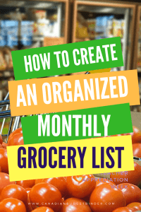 How To Create An Organized Monthly Grocery List : The Grocery Game Challenge 2018 3/4 Feb 19-Mar 4
