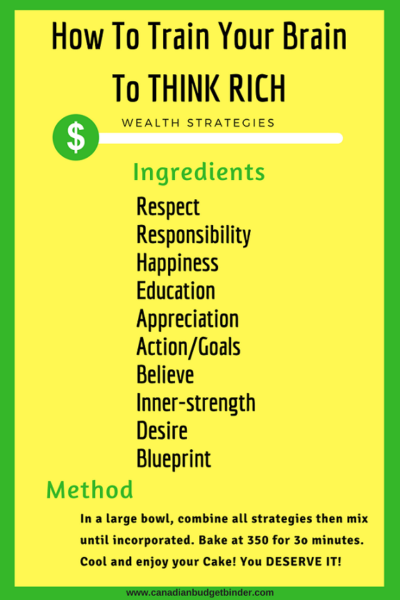 10 Wealth Strategies: How To Train Your Brain To Think Rich - Net Worth Update Feb 2018 (+0.69%)