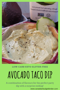 Creamy Avocado Taco Dip Surprise (Keto)