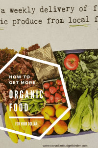 HOW TO GET MORE ORGANIC FOOD FOR YOUR DOLLAR