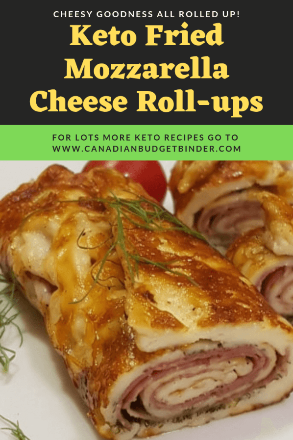 keto mozzarella rolls