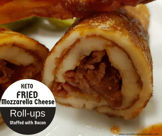 Keto Fried Mozzarella Cheese Roll-ups FB4
